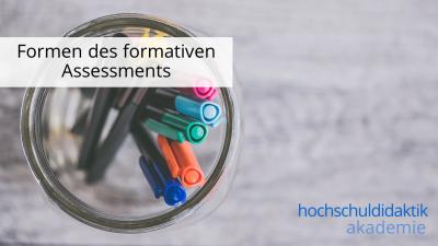 In diesem Modul erfahren Sie die verschiedenen Formen des formativen Assessments.